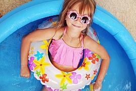 Dětský bazén pro nejmenší plaváčky