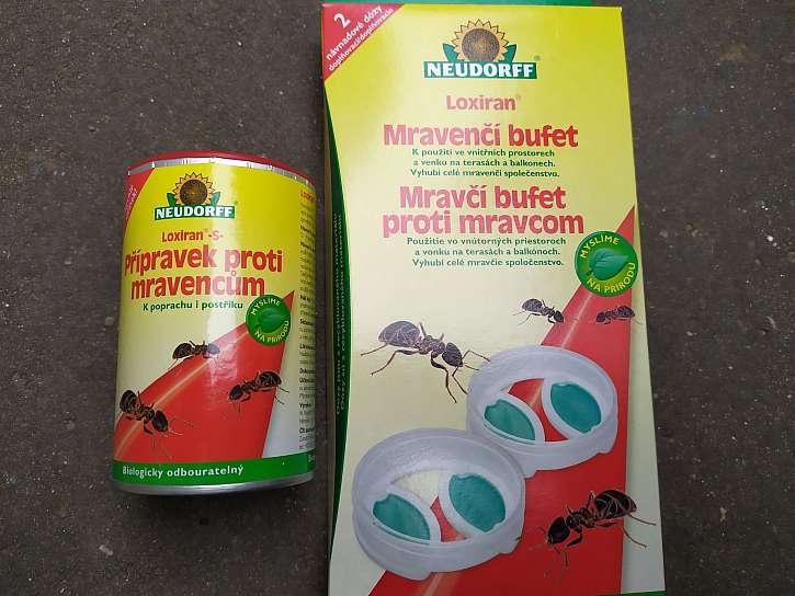 Přípravky na mravence