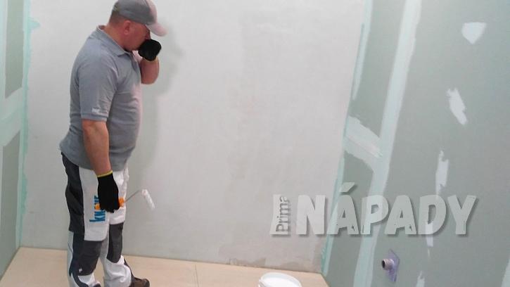 Hydroizolace koupelny: koupelna před hydroizolací