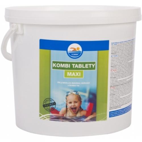 Probazen Kombi Maxi multifunkční tablety do bazénů, 5 kg