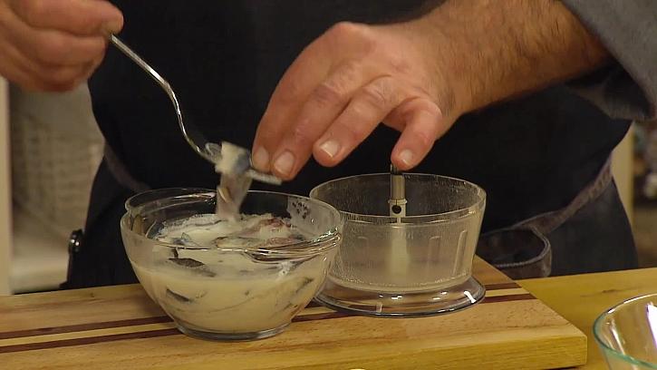 Sardelky v mléce