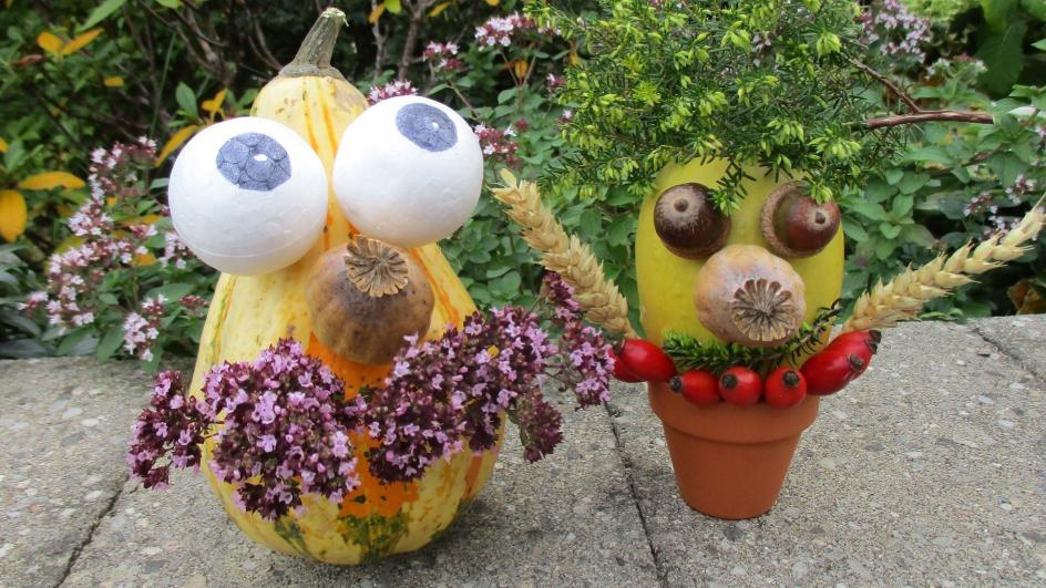 Dýňáčci aneb Jak se dělá rozverná podzimní dekorace pro děti