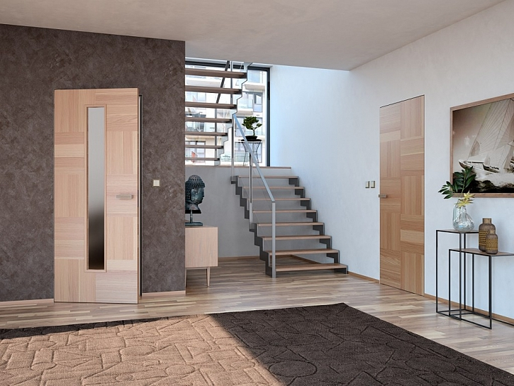 Proměna interiéru je s dveřmi Sapeli více než snadná