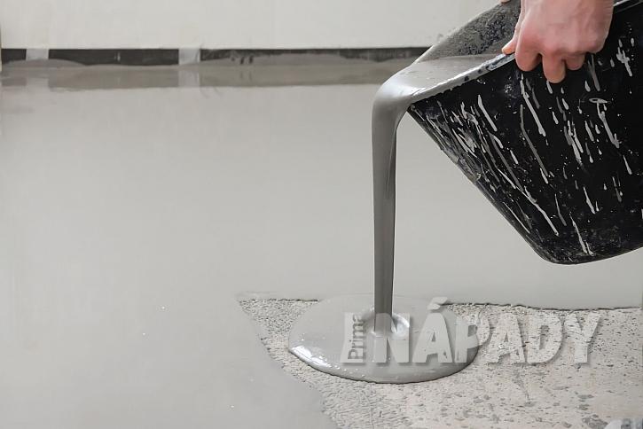 Aplikace - pokládka pryskyřicové podlahy