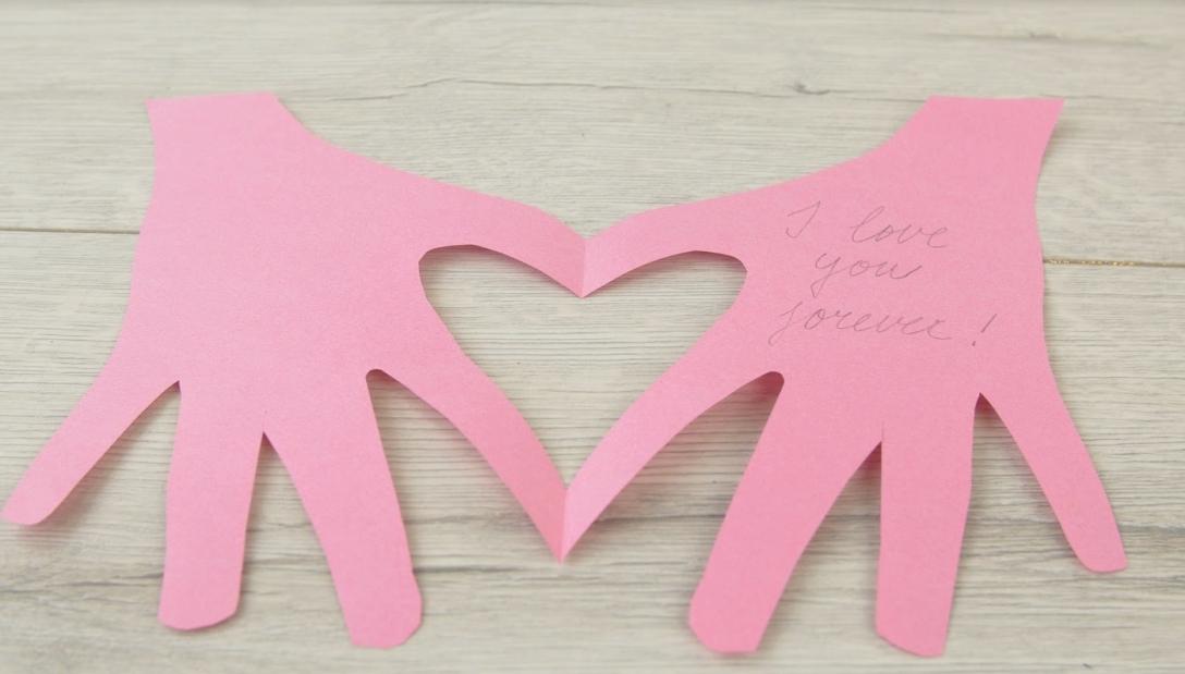 Zamilované přáníčko DIY: Valentýn last minute