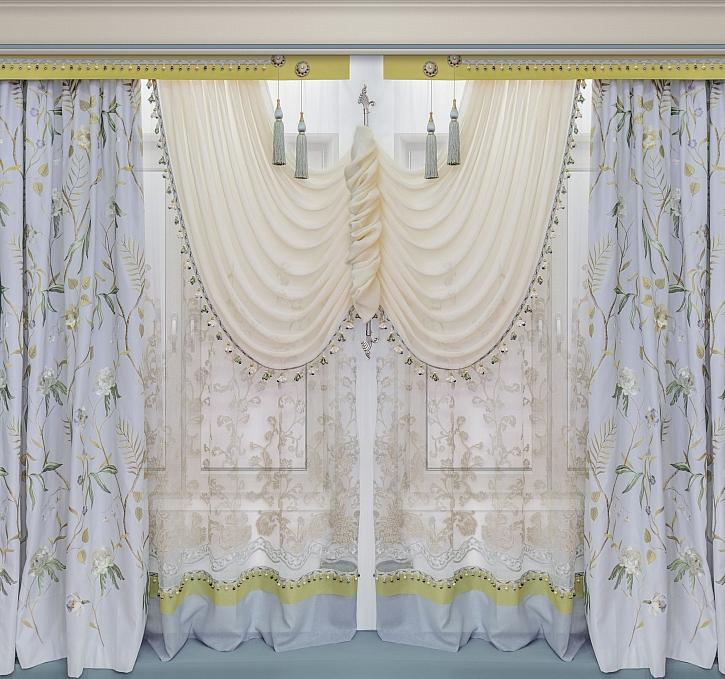 Konzole pro zavěšení závěsů a záclon jsou stále in a také velmi elegantní (Zdroj: Depositphotos)