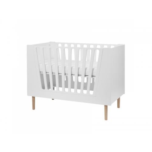 DONE BY DEER Dětská postýlka 120x60 cm - bílá