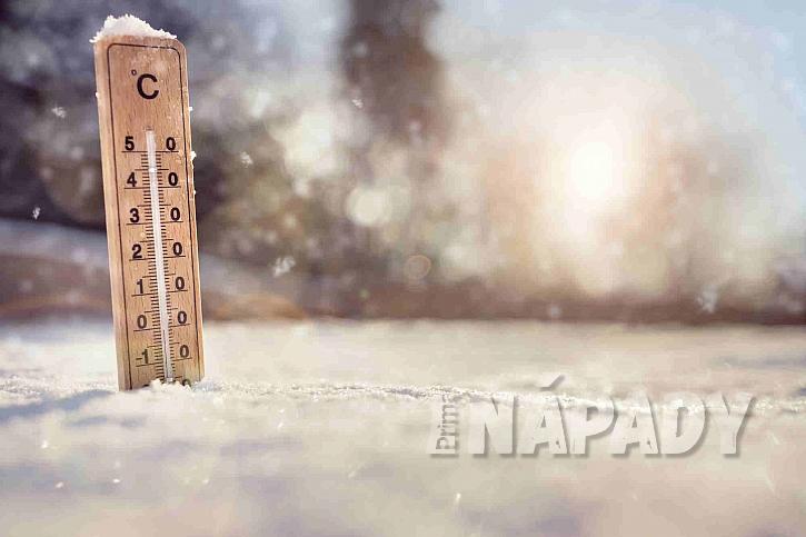 Teploměr ve sněhu