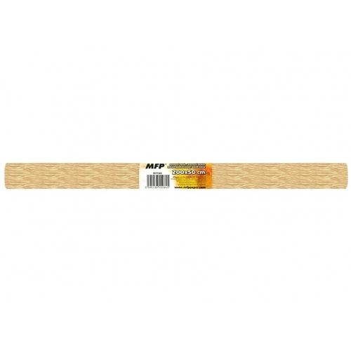 MFP krepový papír role 50x200cm perleťový béžový