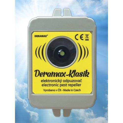 Deramax-Klasik Ultrazvukový odpuzovač - plašič kun a hlodavců 0400