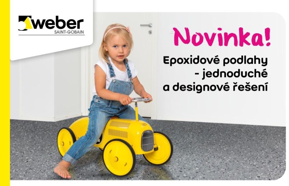 Epoxidové podlahy - jednoduché a designové řešení