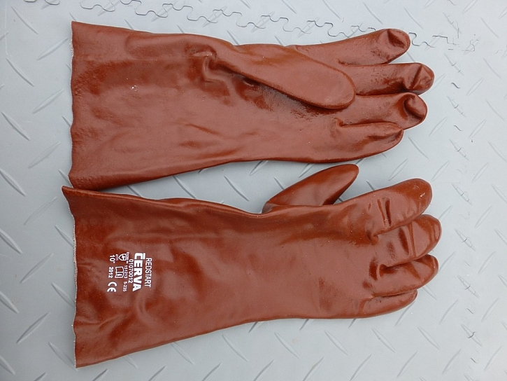 Barva pracovních rukavic není rozhodující