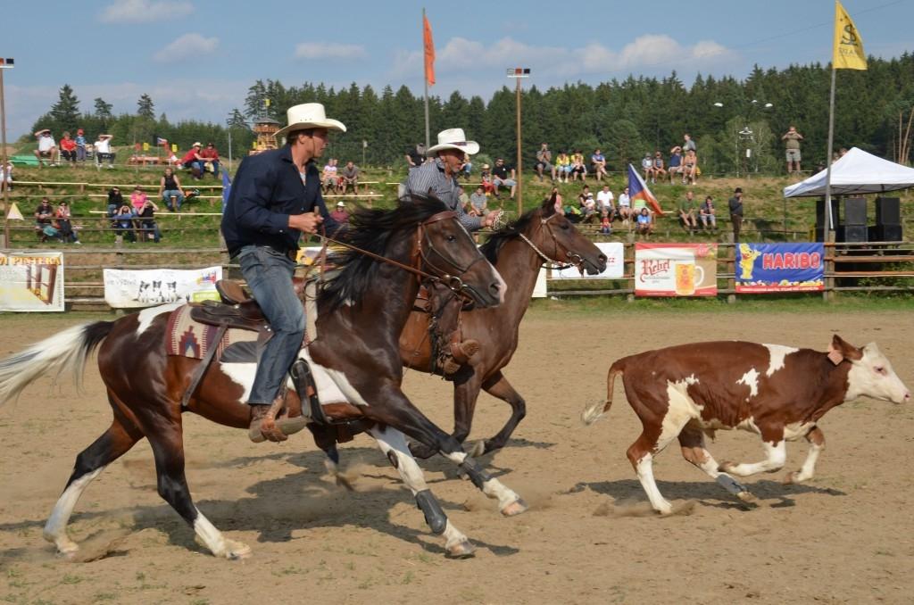 Mistrovství ČR v rodeu se koná tuto sobotu na Šiklově mlýně