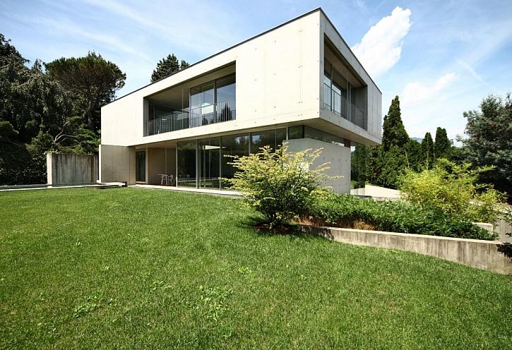 Pultová střecha je ideální pro pasivní domy