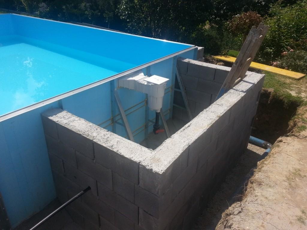 I bazén potřebuje kvalitní izolaci