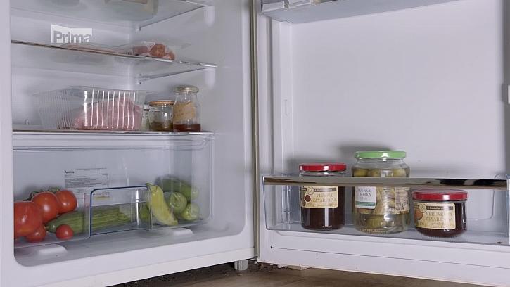 Potraviny v lednici