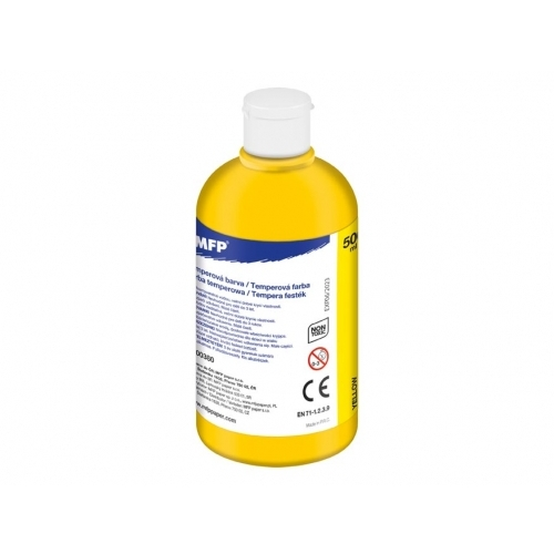 MFP temperové barvy 500ml žlutá