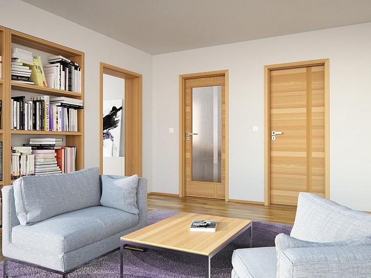 Jak pozvednout vzhled interiéru? Při rekonstrukci začněte u dveří