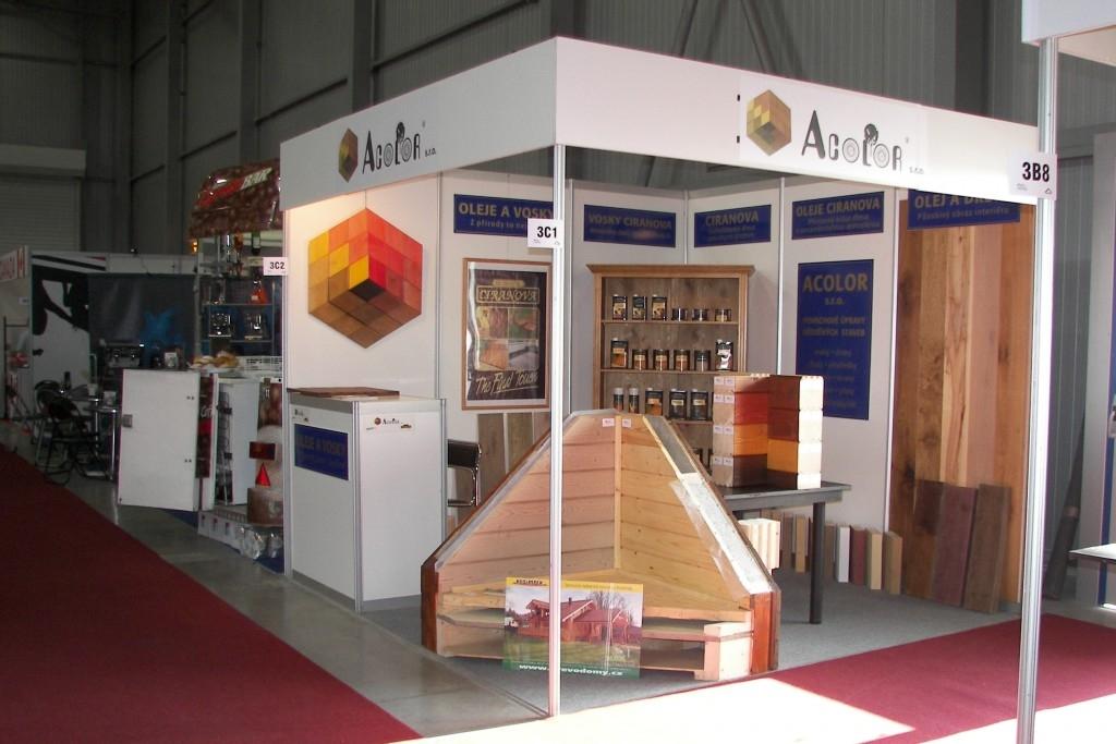 Acolor vás zve veletrh Dřevostavby 2012