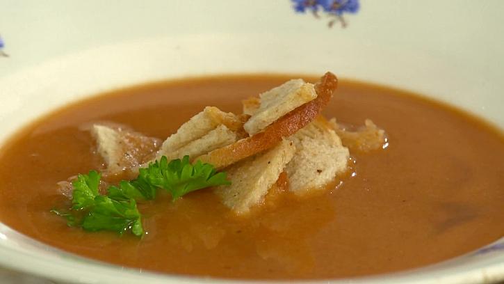 Chutný recept na šípkovou polévku