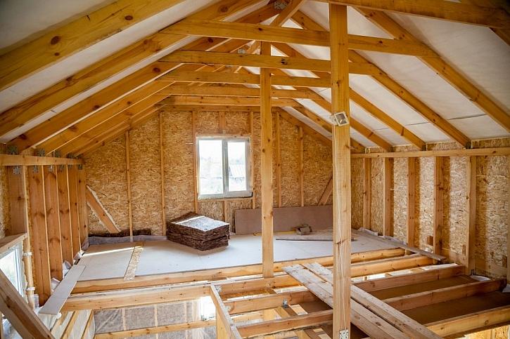 Suchá podlaha se hodí nejvíce do dřevostaveb