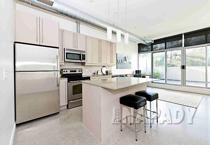 Litá podlaha v kuchyni