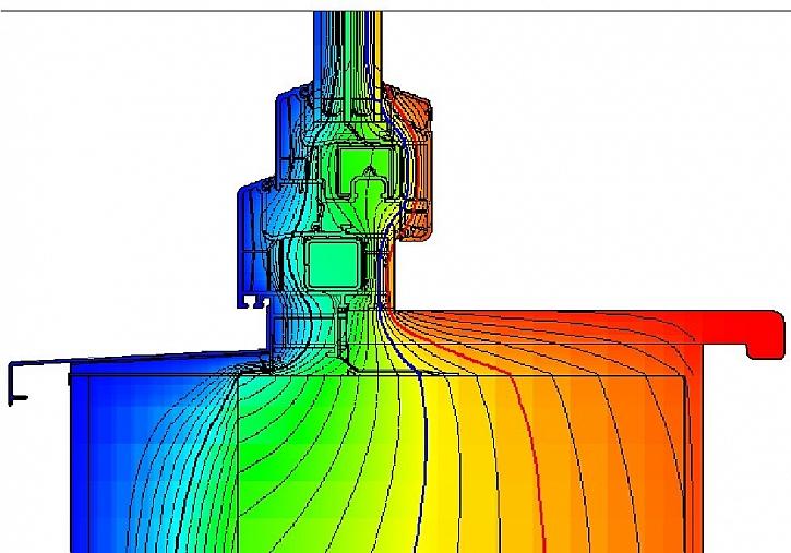Správně provedený parapetní detail musí zajistit dostatečnou tepelnou izolaci, aby nedocházelo k poklesu teploty vnitřních povrchů pod teplotu rosného bodu při návrhových podmínkách vnitřního prostředí.