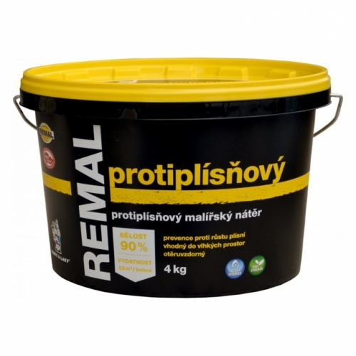Remal Protiplísňová malířská barva 4 kg