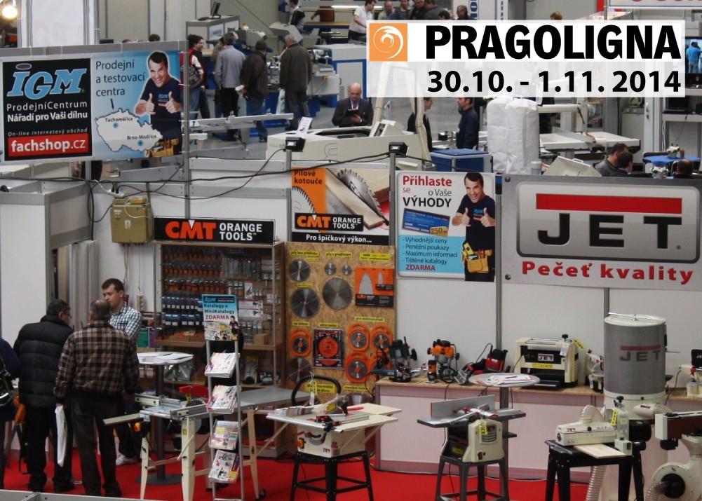 Přijďte navštívit stánek IGM na výstavě Pragoligna 2014 v Praze - Holešovicích