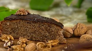 Recept na bleskový ořechový koláč