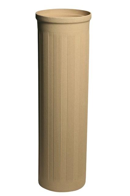 Tenkostěnná izostatická vložka usnadňuje montáž a dává komínu unikátní vlastnosti
