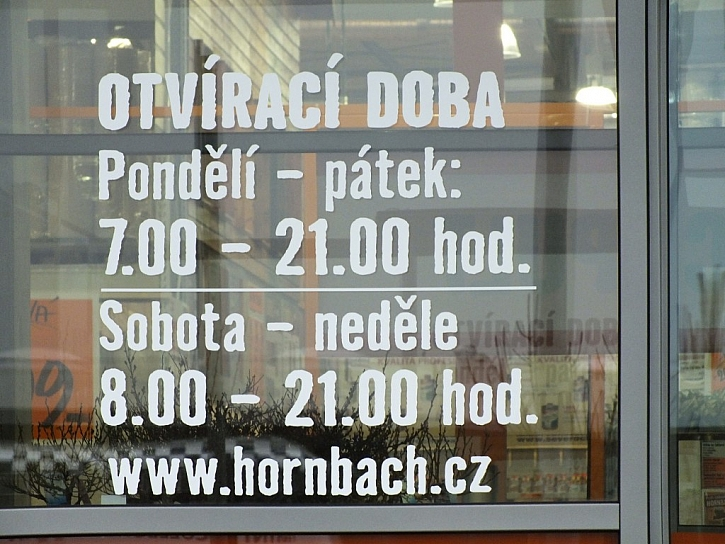Hornbach Česltice