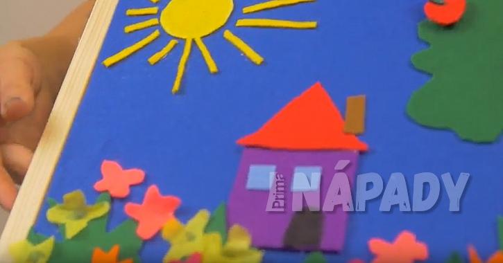 Magnetický obrázek pro děti