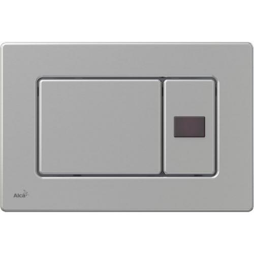ALCAPLAST Ovládací tlačítko splachovací M279S (kov) Antivandal se senzorem