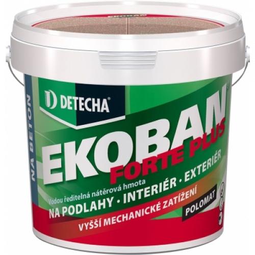 Detecha Ekoban Forte Plus barva na dřevo i beton, RAL 7045 tmavě šedý, 15 kg