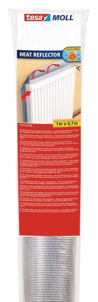 tesamoll® těsnění Odrazová fólie za radiátor