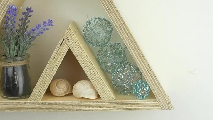 Jak vyrobit rámeček ve tvaru hory