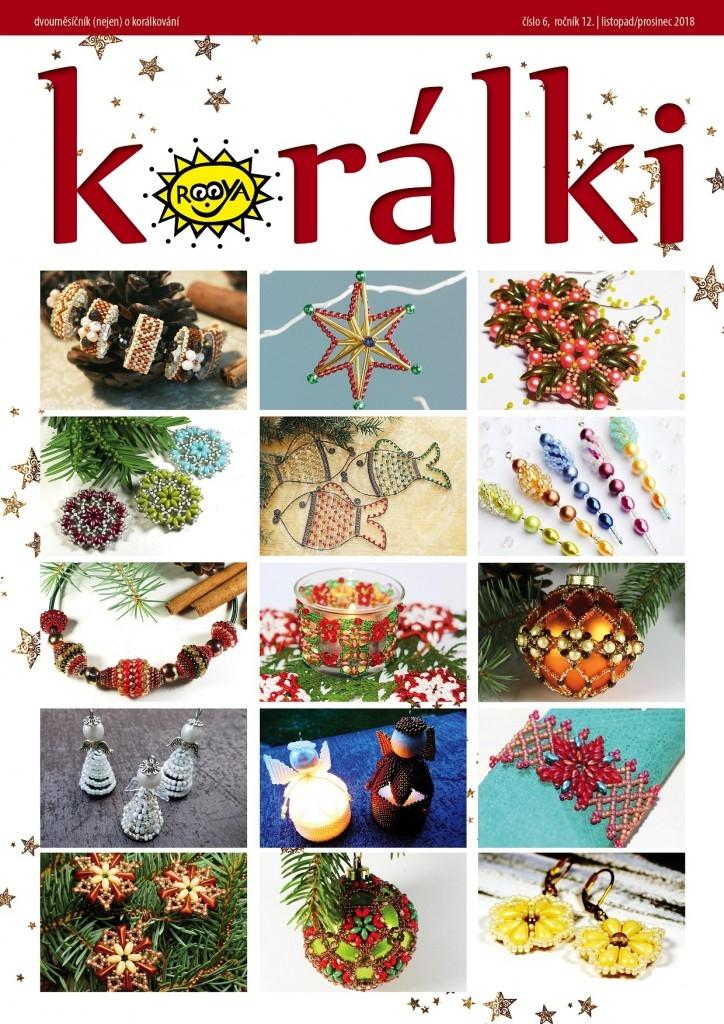 Obsah časopisu Korálki 6/2018 – Skořicové Vánoce