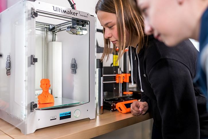 3D tisk v chytre dilne iQFABLAB
