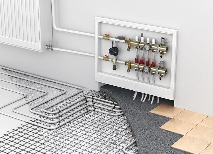 Strašák jménem oprava teplovodního podlahového topení (Zdroj: Depositphotos)