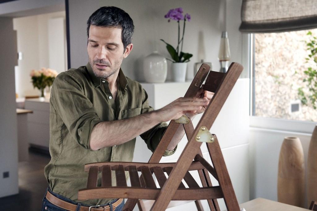 Opravujeme židli