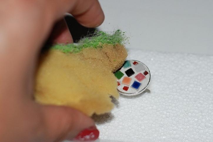 Výroba prstenu s minimozaikou