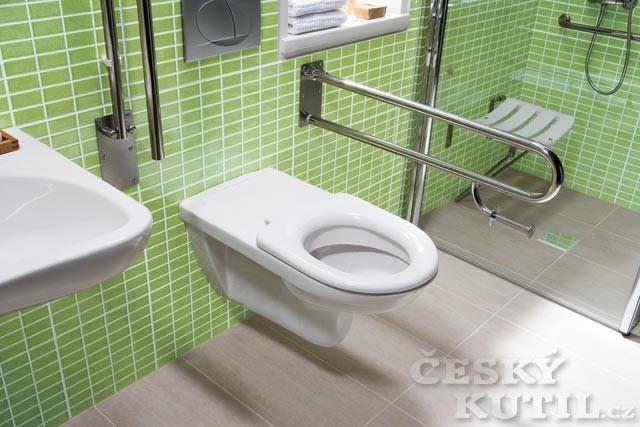 Bezbariérové koupelny Laufen a Jika