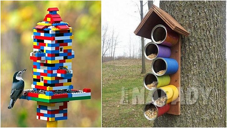 Zimní zahrada: barevně a hravě