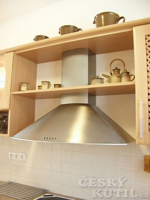 Digestoř - nedílná součást kuchyně