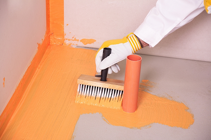 Natírání, oranžová