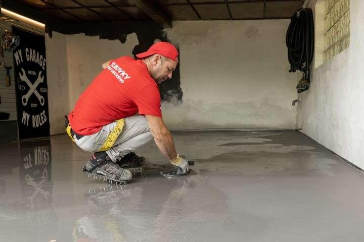 Vyrovnání původní podlahy