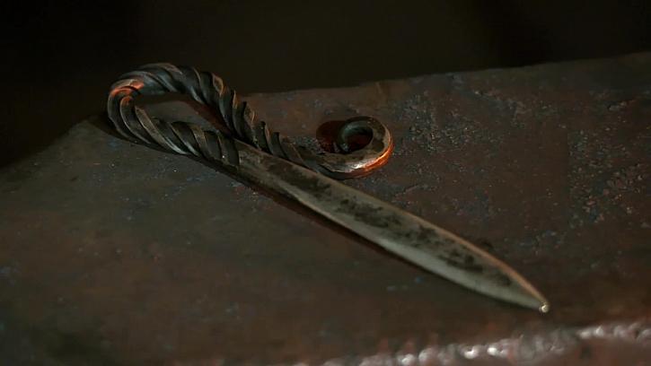 Nůž na dopisy ze starého vrtáku (Zdroj: Prima DOMA)