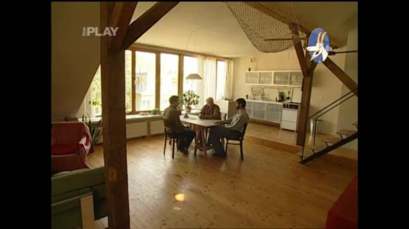 Zrekonstruovaný půdní byt