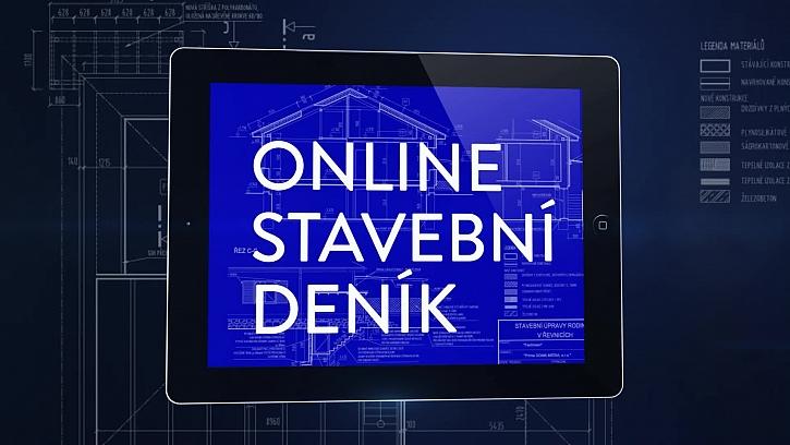 On-line stavební deník a kamna na stavbě